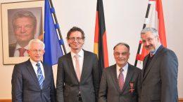 Bundestverdienstkreuz für Albet Stoll